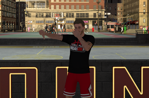 Thumbs Down to The Playground (NBA 2K20)