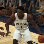 Potential NBA 2K21 Cover Player Zion Williamson