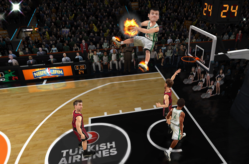 Euroleague Players in NBA Jam: On Fire Edition