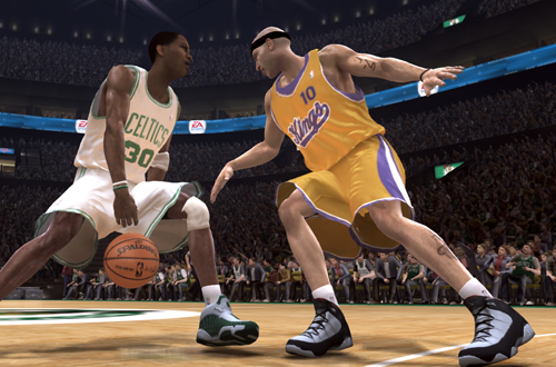 Quick Strike Ballhandling in NBA Live 08