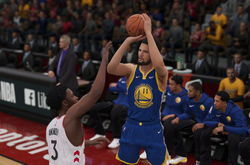 Klay Thompson in NBA Live 19