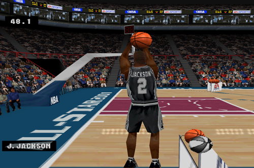Last Gen Surprises: Three-Point Shootout in NBA Live 2001 PS1