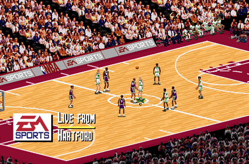 Generic Court in NBA Live 95 PC