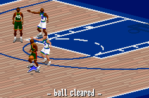 Last Gen Surprises: 2-on-2 in NBA Live 97 SNES