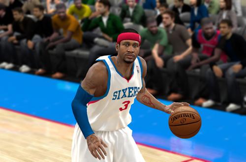Familiar Faces in Familiar Places: Allen Iverson in Philadelphia (NBA 2K10)