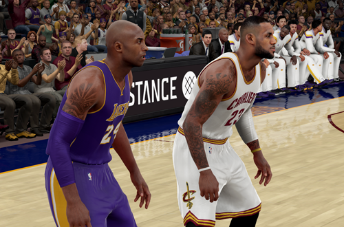 Kobe Bryant & LeBron James in NBA 2K16