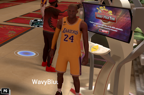 Kobe Bryant MyPLAYER in NBA 2K20