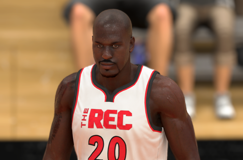 Shaq MyPLAYER in The Rec