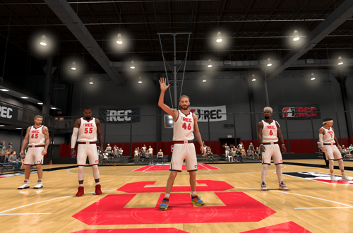 Getting a win thanks to Rec Quitters (NBA 2K20)