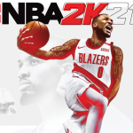 Damian Lillard NBA 2K21 Cover Announcement