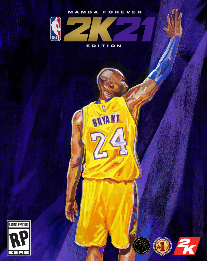 NBA 2K21 Mamba Forever Edition Cover (Next Gen)