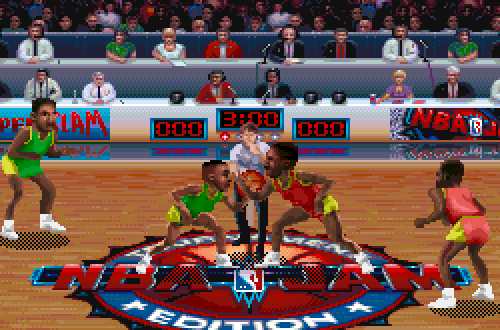 Outdated Details: Jersey Colours in NBA Jam TE PC