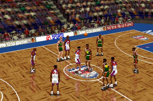 NBA Live 96 PC in High Res