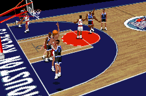 NBA Live 96 PC in Low Res