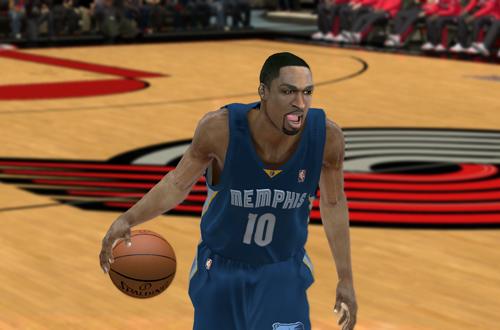 Familiar Faces in Strange Places: Gilbert Arenas in Memphis (NBA 2K12)