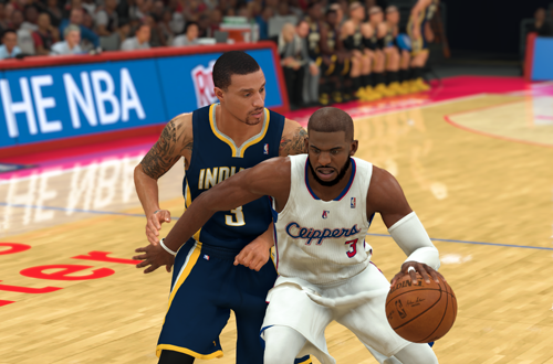Chris Paul and George Hill on Retro Teams (NBA 2K20)