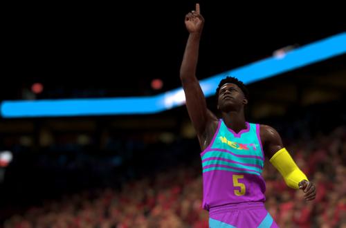 Anthony Edwards in NBA 2K20 MyTEAM