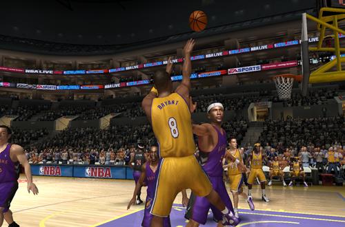 Kobe Bryant Fadeaway in NBA Live 06