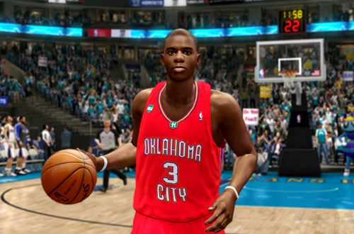 Oklahoma City Valentine's Day Jersey in NBA Live 10