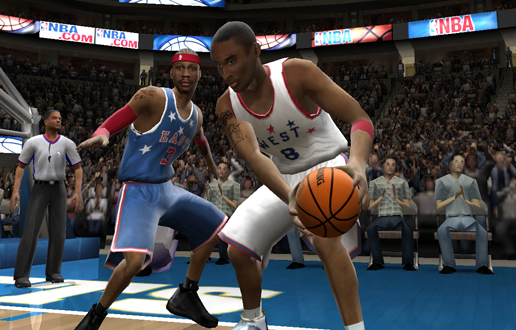 Retro All-Star Jerseys in NBA Live 2005