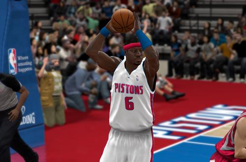 Ben Wallace in NBA 2K10