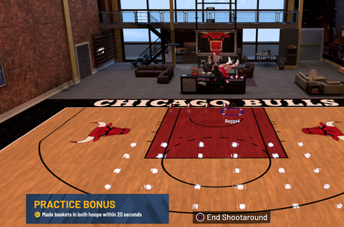 Nifty Features: Earning VC in MyCOURT (NBA 2K20)