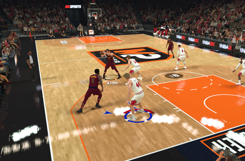 MyPLAYER Builder Game in NBA 2K21