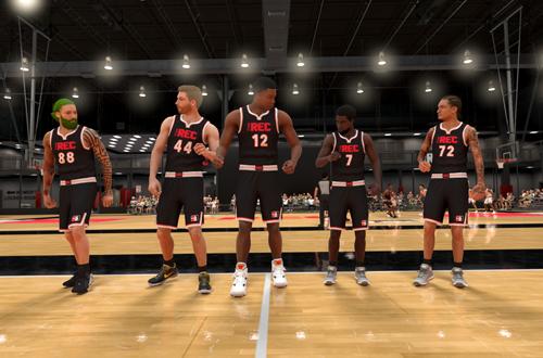 Pre-Game in The Rec (NBA 2K21)