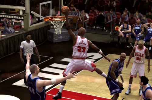 "Created MJ with the ""Jumpman"" Dunk in NBA Live 08"