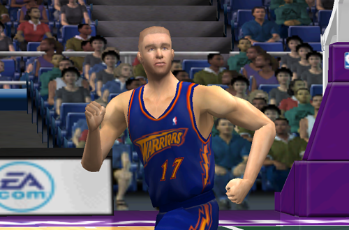 Familiar Faces Back in Familiar Places: Chris Mullin, Warriors (NBA Live 2001)