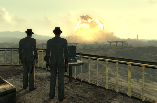 Megaton Explodes in Fallout 3