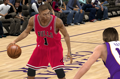 Derrick Rose vs. Steve Nash (NBA 2K11)