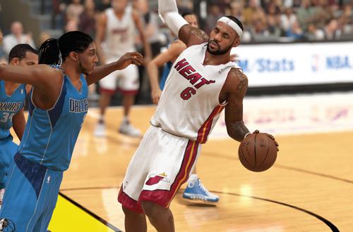 LeBron James in NBA 2K14