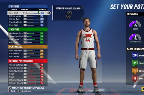 Building a Lob Threat in MyCAREER (NBA 2K21)
