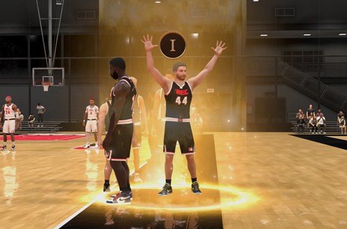 Levelling Up MyREP in The Rec (NBA 2K21)