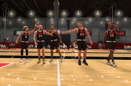 Introductions in The Rec (NBA 2K21)