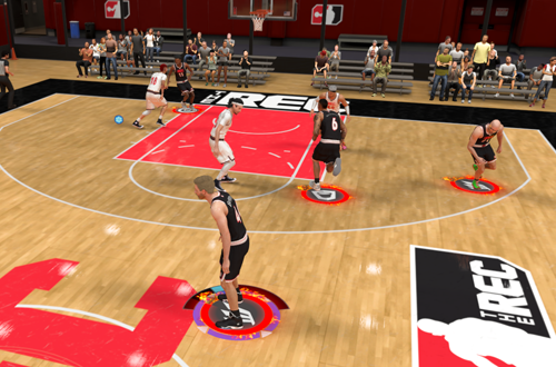 Team Takeover in The Rec (NBA 2K21)