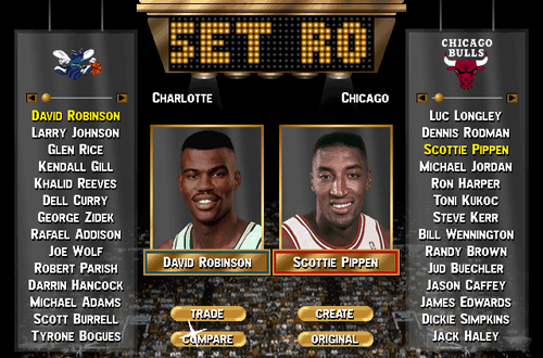 Custom Rosters in NBA Live 96 PC