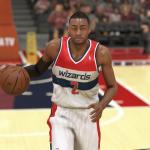 John Wall in NBA 2K14