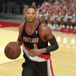 Damian Lillard in NBA 2K14