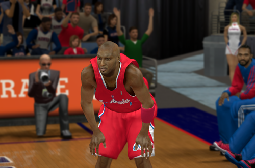 Lamar Odom in NBA 2K13