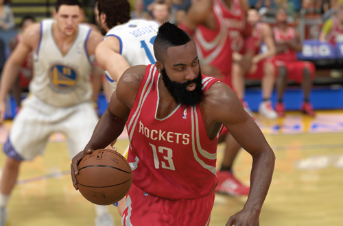James Harden in NBA 2K14 PS4