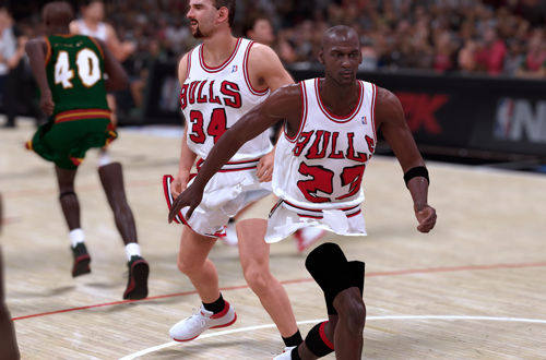 Graphical Glitches in NBA 2K19