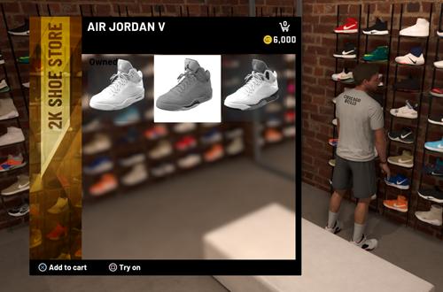 Shoe Goals in NBA 2K21 MyCAREER