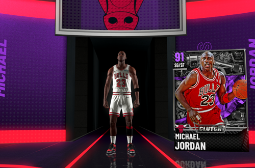 Pulling a Michael Jordan in MyTEAM (NBA 2K21)