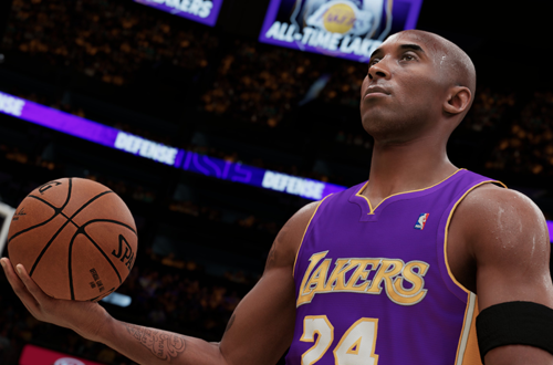 Kobe Bryant in NBA 2K21 Next Gen
