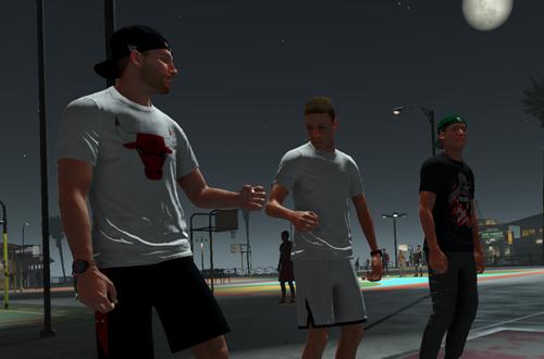Playground Intro in NBA 2K21