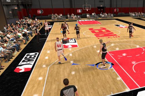 Defending in The Rec (NBA 2K21)
