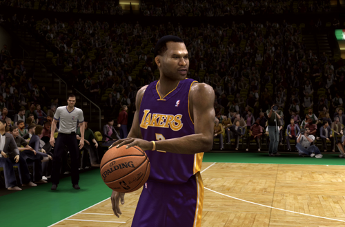 Derek Fisher in NBA Live 08