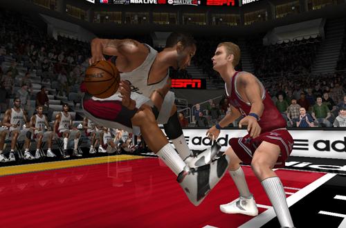 Levitation Glitch in NBA Live 08